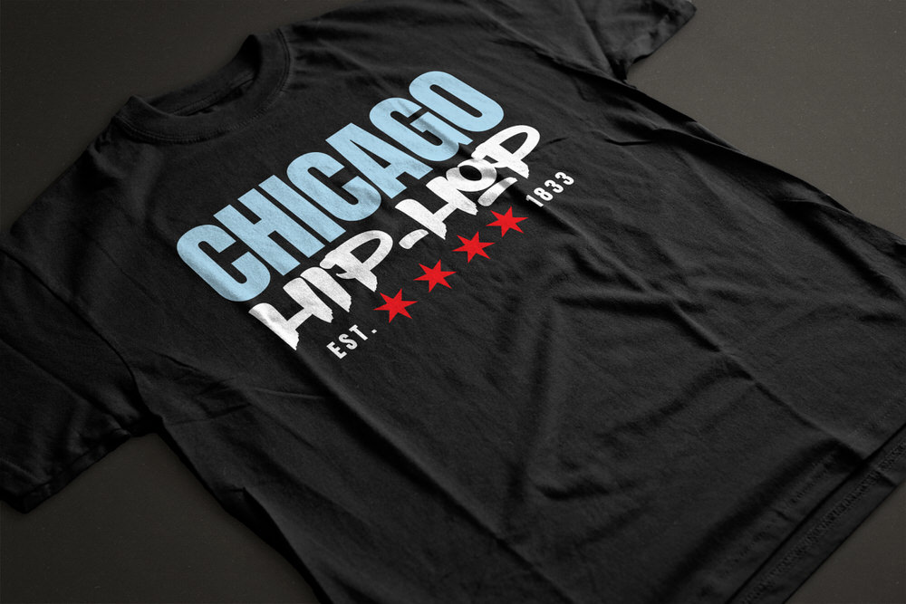 Chicago Hip-Hop Series T-Shirts