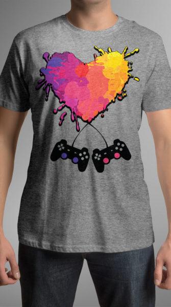gamer-heart-grey-mockup-model